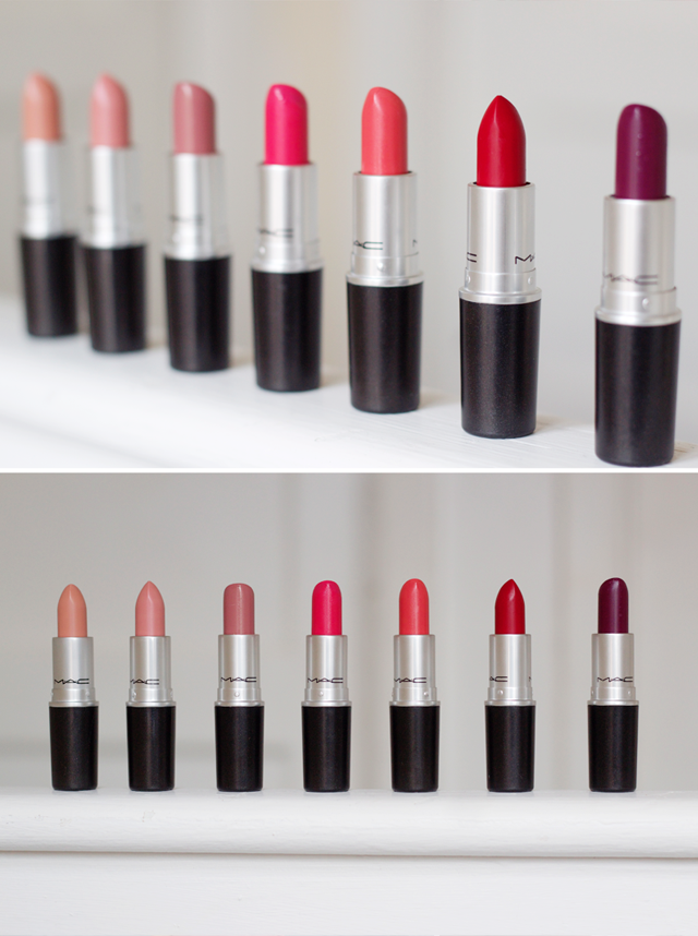TOP FAVOURITE MAC LIPSTICKS FOR (With