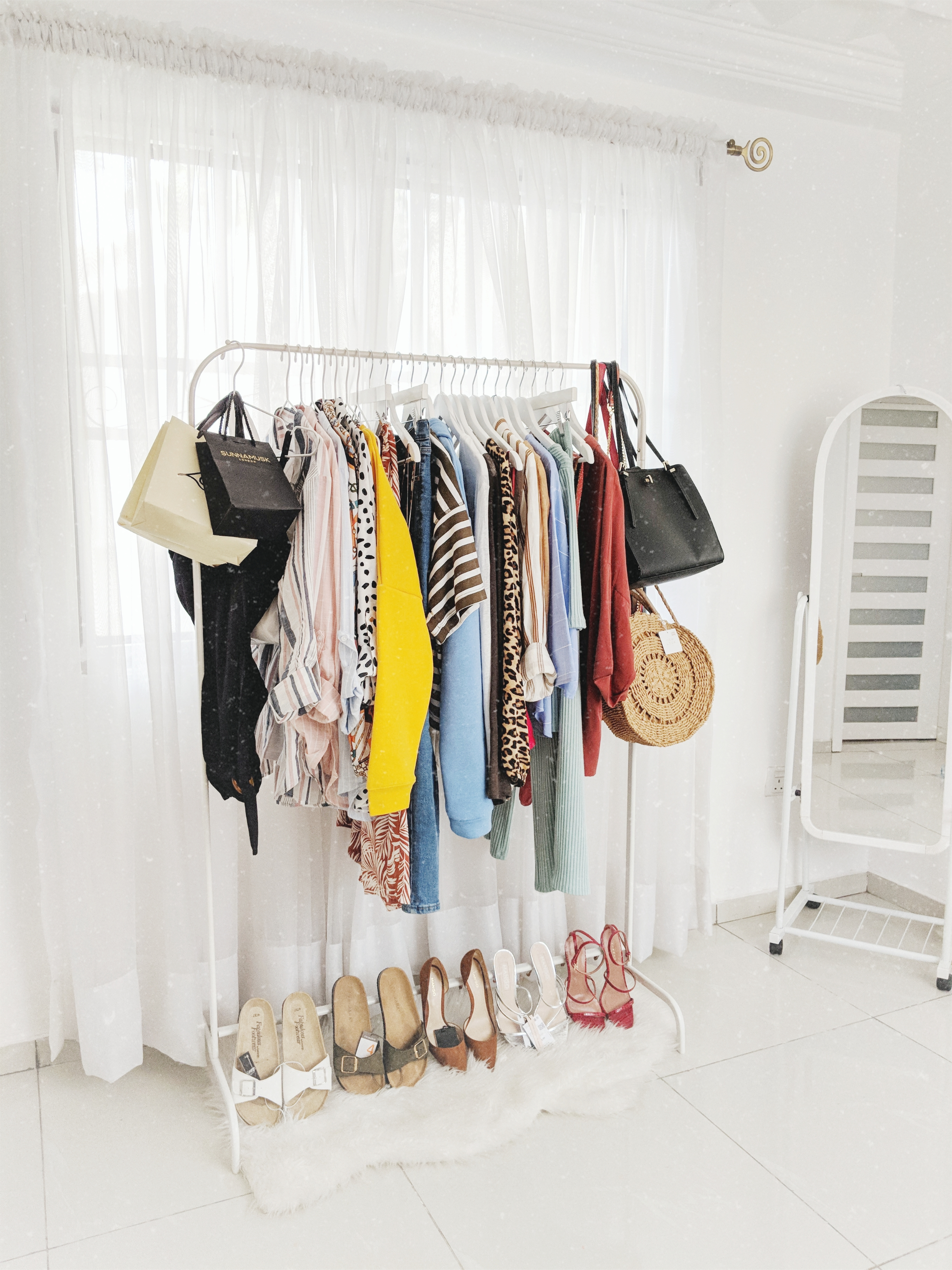 Shirley's Wardrobe Rack